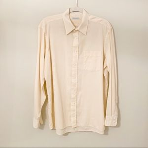 Christian Dior Mens Button Down Dress Shirt